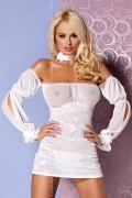 Obsessive Mistia chemise белая комбинация