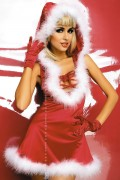 Obsessive Santa Lady dress